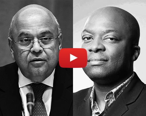 Pravin Gordhan vs ALI Fellow Justice Malala in heavyweight debate on economy