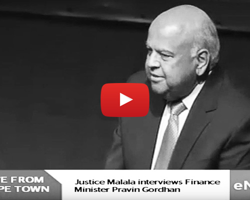 WATCH: Justice Malala interviews Pravin Gordhan
