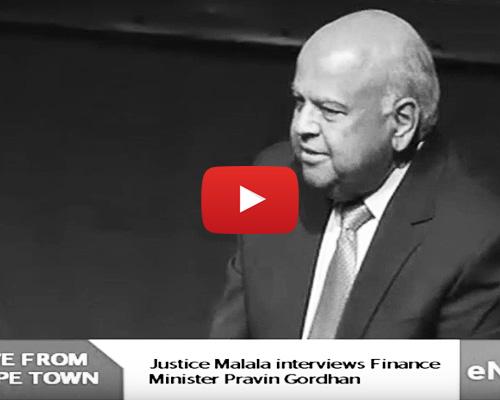 WATCH: Justice Malala interviews Pravin Gordhan