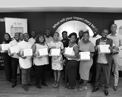 Congratulations to the 2016 TEACH South Africa Graduates