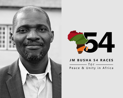 JM Busha 54 Races: Make a pledge to Africa.