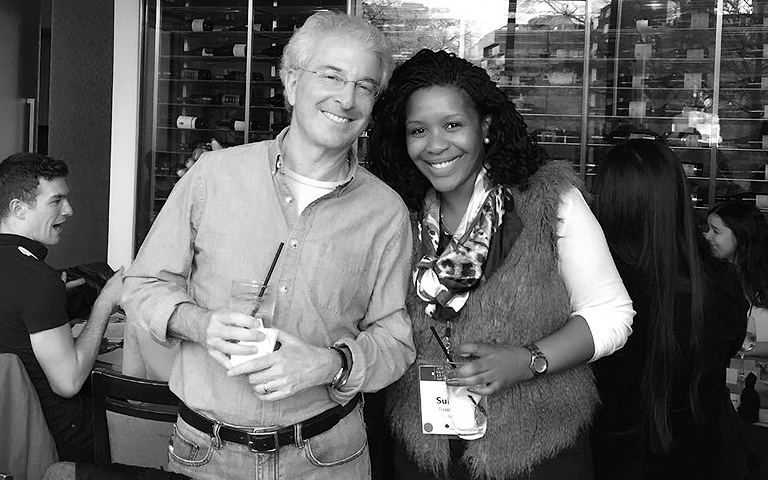 Peter Reiling and Sulungeka Dazana